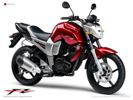 FZ 150 Lava Red