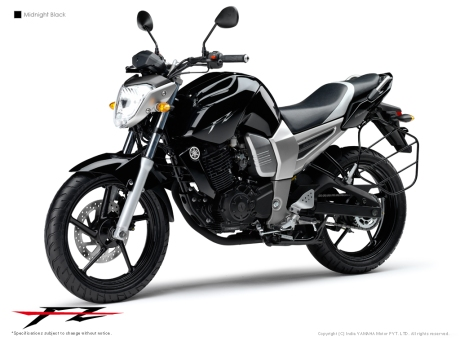 FZ 150 Midnight Black