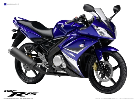 YZF R15 Blue