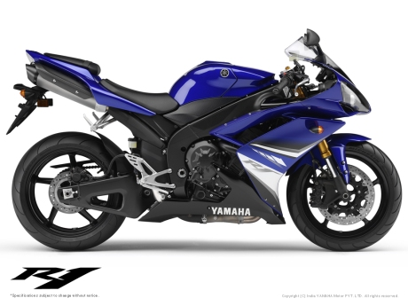 Yamaha R1 Blue