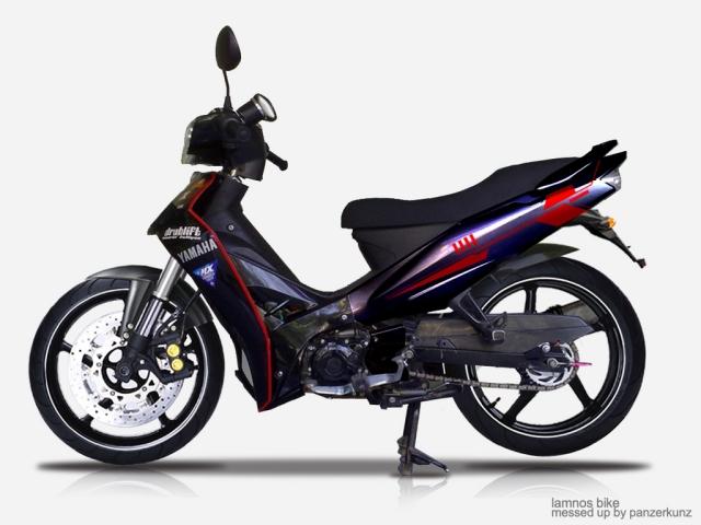 Honda Revo VsYamaha Vega R Vs Suzuki Shogun Vs Honda Supra X 125