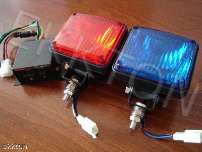 contoh lampu strobo