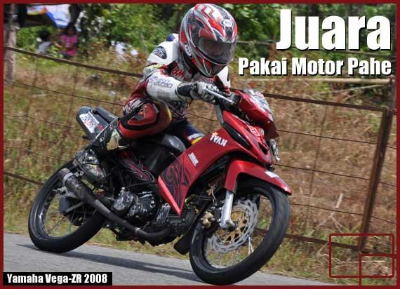 Juara Region Sumatera Pakai Motor Pahe Bekasi Vega Club